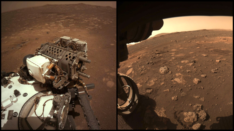 Cesta začala: Perseverance prešiel na Marse prvé metre a roztiahol robotické rameno