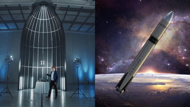 Kríženec Falcon 9 a Starship je tu, nová znovupoužiteľná raketa ide do sveta. Zakladateľ firmy musel zjesť čiapku