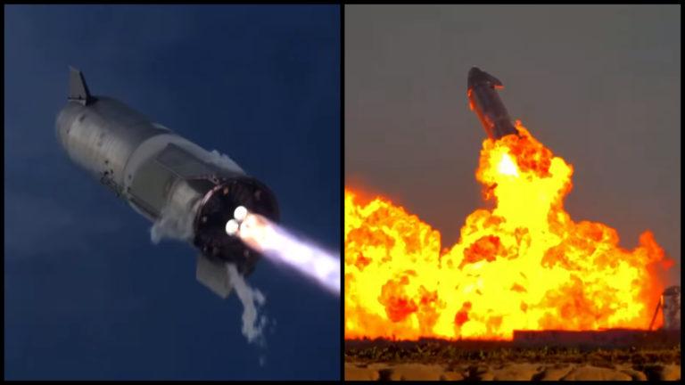 SpaceX to dokázal. Starship konečne pristál, po niekoľkých minútach však vybuchol