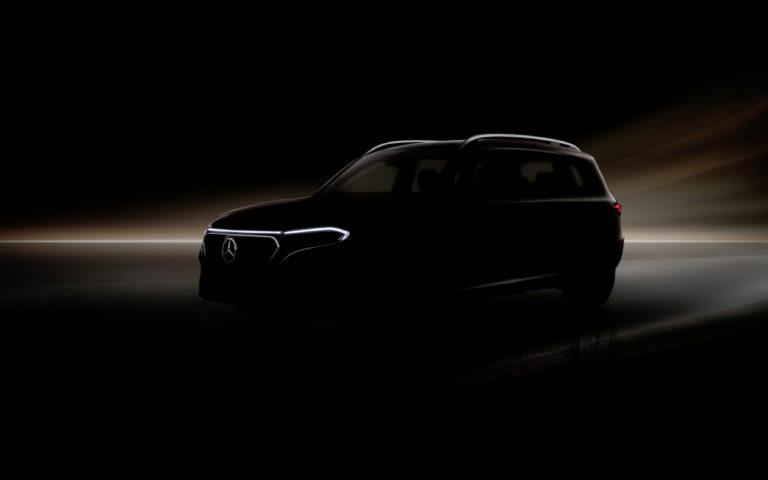 Mercedes ani zďaleka nekončí, už zajtra predstaví elektromobil EQB. Nevieme o ňom takmer nič