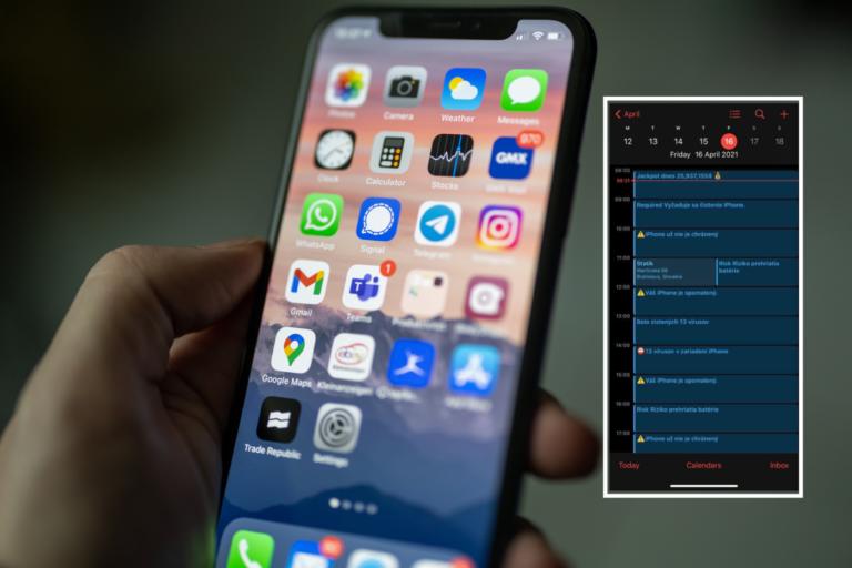 Útočí na Slovákov: Nebezpečný softvér zaplavil kalendár iPhonov a šíri falošné odkazy (+ako sa brániť)