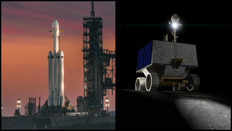 Do SpaceX tečú ďalšie stovky miliónov a pošle Falcon Heavy na Mesiac. Pristane tam, kde žiaden človek ani sonda neboli