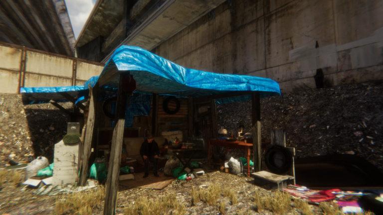 Z Česka prichádza kuriózny simulátor bezdomovca. Naučí ťa, ako žiť bez strechy nad hlavou