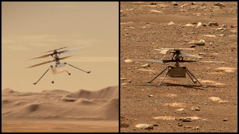 Čaká nás historický moment. Prvá helikoptéra na Marse vzlietne už dnes