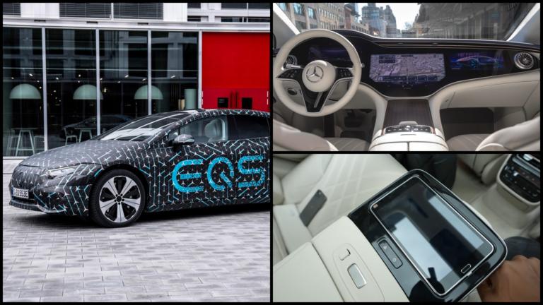 Prvá video recenzia: Elektrické EQS ukázalo výnimočné technológie a nové kľúčové vlastnosti