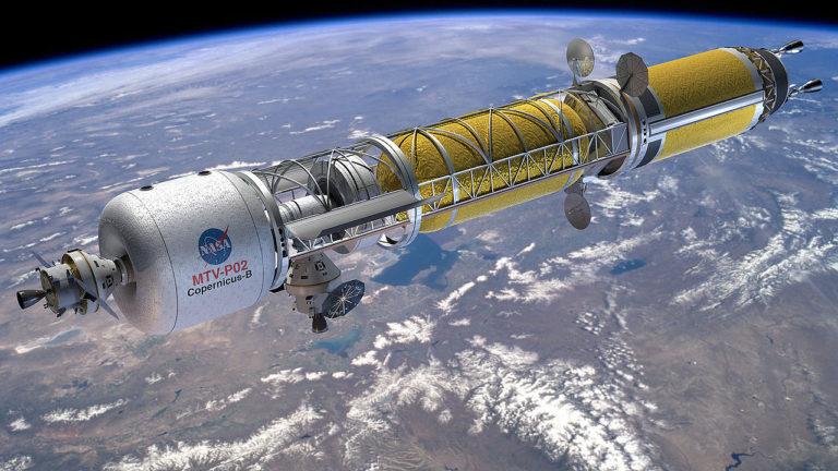 Cestovanie vesmírom na jadrový pohon? Práca na revolučnej kozmickej lodi raketovo napreduje, armáda USA už vybrala 3 firmy na testovanie