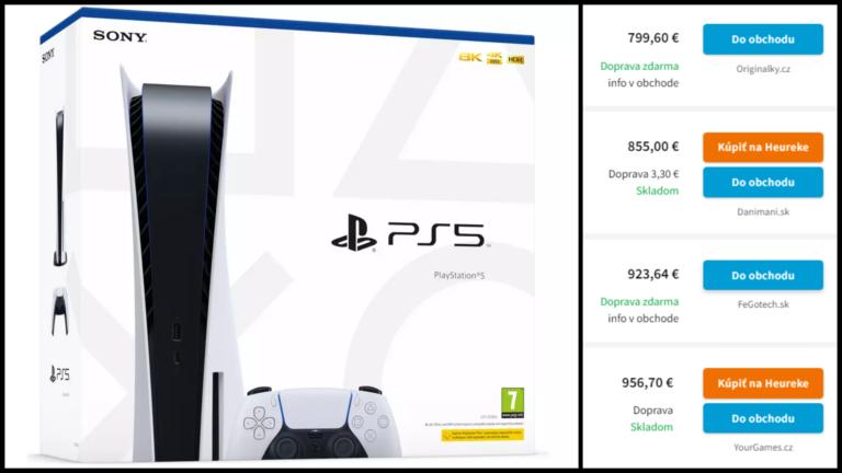 Slovenské e-shopy ryžujú na nedostatku PlayStation 5. Niektoré predávajú s takmer 100% prirážkou
