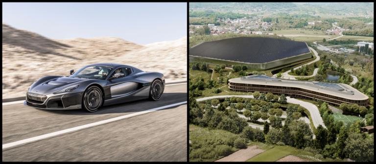 Z garáže na automobilový piedestál. Z Rimacu sa stáva etalón elektromobility, začne budovať nové futuristické sídlo za stovky miliónov eur