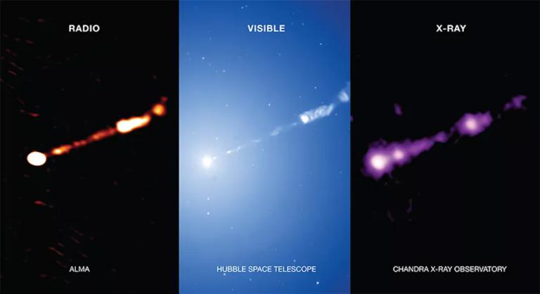 Vylepšili historicky prvú snímku čiernej diery. Lepšiu si ešte určite nevidel, teraz vrhá von prúd plazmy
