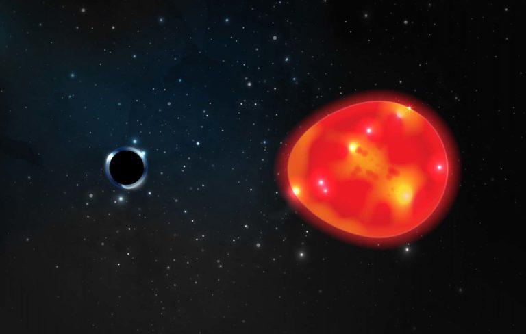 """Objavili """"Jednorožca"""". Astronómovia našli najbližšiu čiernu dieru k Zemi"""