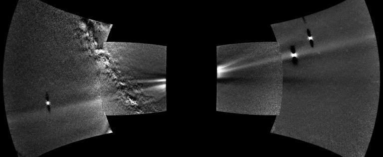 Takúto fotku z vesmíru sme ešte nikdy nedostali. Sonda, ktorá smeruje k Slnku, odfotila celý prachový prstenec Venuše