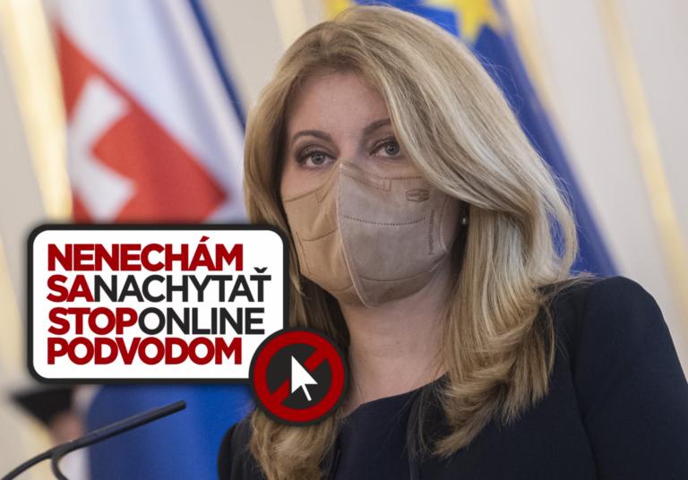 Štartuje celoslovenská kampaň polície. Na čele s prezidentkou aj známymi tvárami odhalia problémy online sveta
