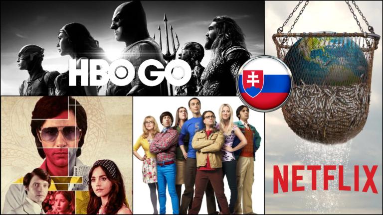 Najsledovanejšie hity u nás. Tieto filmy a seriály sledovali Slováci na HBO GO a Neflixe najviac