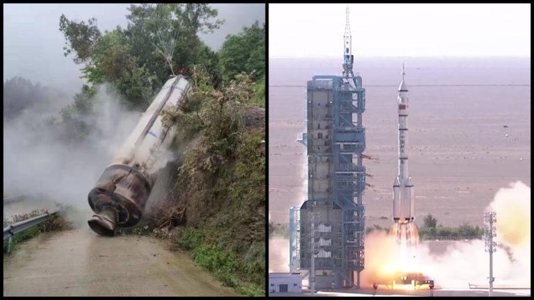 Na Zem sa zrútila ďalšia čínska raketa. Po dopade do osídlenej oblasti z nej začalo unikať toxické palivo