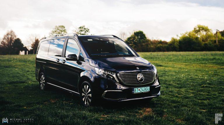 """RECENZIA: Mercedes a elektrické EQV za 100 000 €. Je toto """"najlepší van na trhu""""?"""