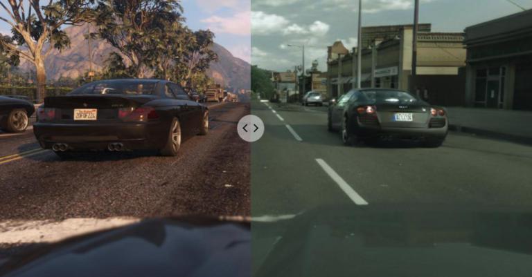 Je toto budúcnosť? Špeciálny nástroj vytvoril z GTA 5 vďaka AI fotorealistickú hru