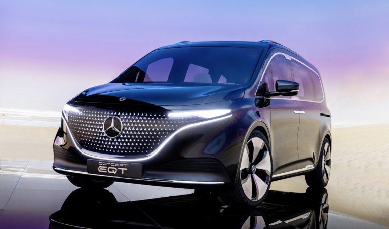 """Mercedes vytiahne z automobilového """"cintorína"""" legendárny druh áut. Elektrické EQT s úžasným dizajnom ťa ohromí na prvý pohľad"""