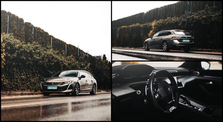RECENZIA: Najkrajšie kombi na Slovensku? Plug-in hybridný Peugeot 508 SW srší luxusom, no drobnými chybami si kazí dojem