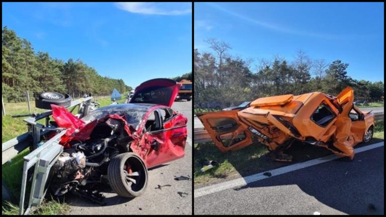 Hrozivá nehoda Tesly na diaľnici D2 pozná vinníka. Polícia obvinila 30-ročného vodiča, mal zapnutého aj autopilota?