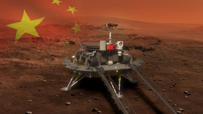 Stane sa len 3. krajinou, ktorá to dokázala. Čína pristane na Marse, zverejnili dátum
