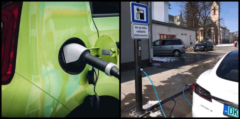 Elektronabíjačky v stĺpoch verejného osvetlenia budú ďalší slovenský hit. V ktorých mestách sú a za koľko nabijú e-autá?