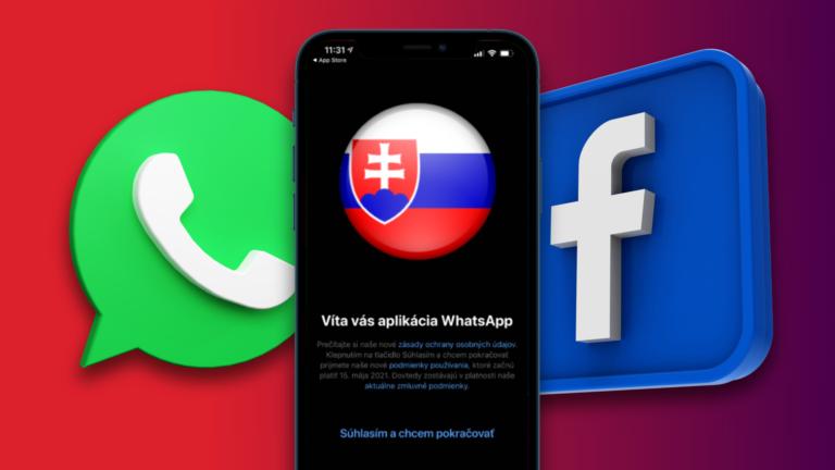WhatsApp odovzdá dáta Facebooku a ľudí donúti súhlasiť. Ako sa to dotkne Slovákov?