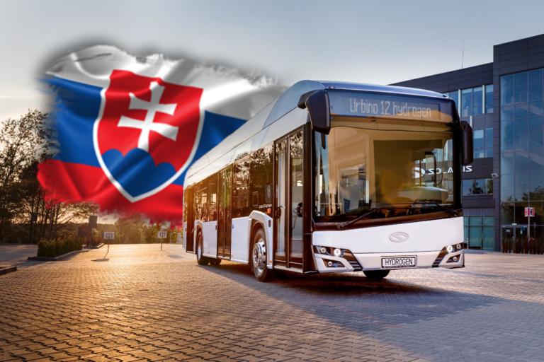 Slovenské mesto hlási revolúciu. Bude prvé v krajine, v ktorom začne jazdiť flotila vodíkových autobusov