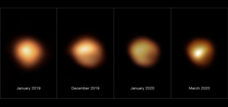 Záhada hviezdy Betelgeuse vyriešená. Konečne vieme, čo spôsobilo jej extrémny pokles jasu