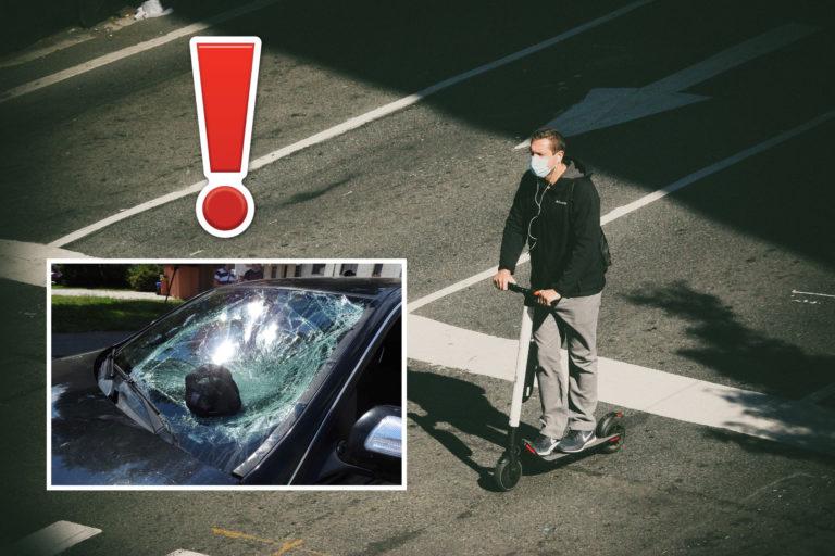 Tretia nehoda na e-kolobežke behom pár dní. Polícia apeluje na bezpečnosť v premávke