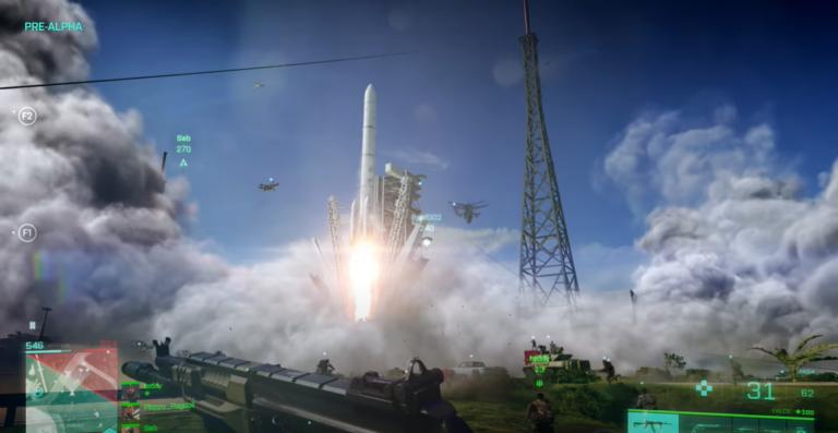 Tornádo ťahá helikoptéru a USA s Ruskom zničili svet. Úchvatný gameplay nového Battlefield 2042 ťa priklincuje k monitoru