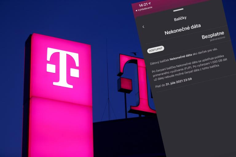 Telekom rozdáva neobmedzené dáta aj v auguste. Takto si ich aktivuješ