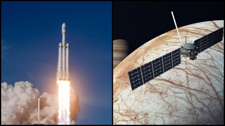 SpaceX dostal do vačku stovky miliónov. Falcon Heavy zoberie sondu na mesiac Jupitera, aby našla život