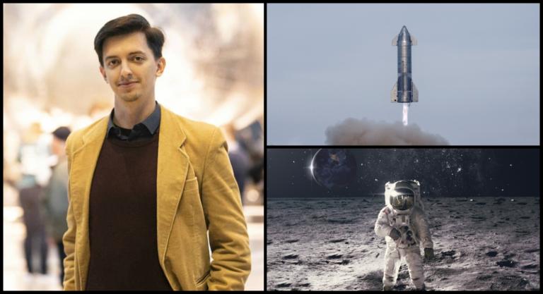 ROZHOVOR: Životná šanca na obzore, Slovák Matej môže letieť okolo Mesiaca so SpaceX. Má z letu strach?