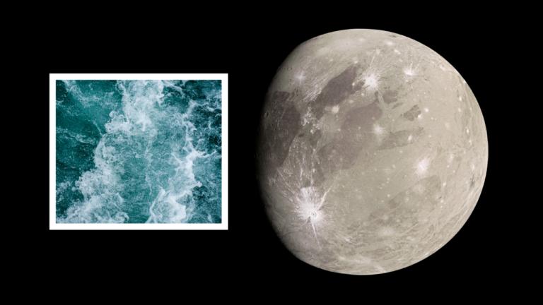 Najväčší mesiac Slnečnej sústavy opäť prekvapil. Našli sme na ňom molekuly vody