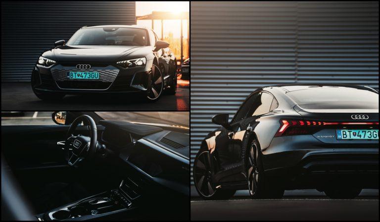 Nepotrebuješ V8 a zvuk, aby bola zábava. Test Audi e-tron GT odhalil recept športových elektromobilov