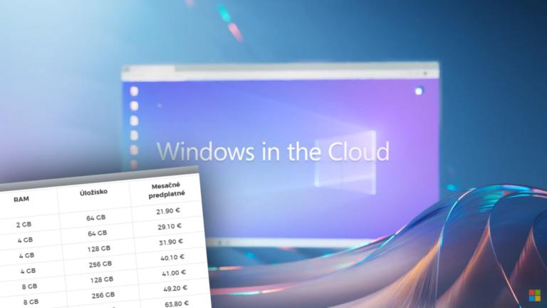 Microsoft spustil pre Slovákov špeciálny Windows. S predplatným si kúpiš cloudový počítač (+prehľad cien)