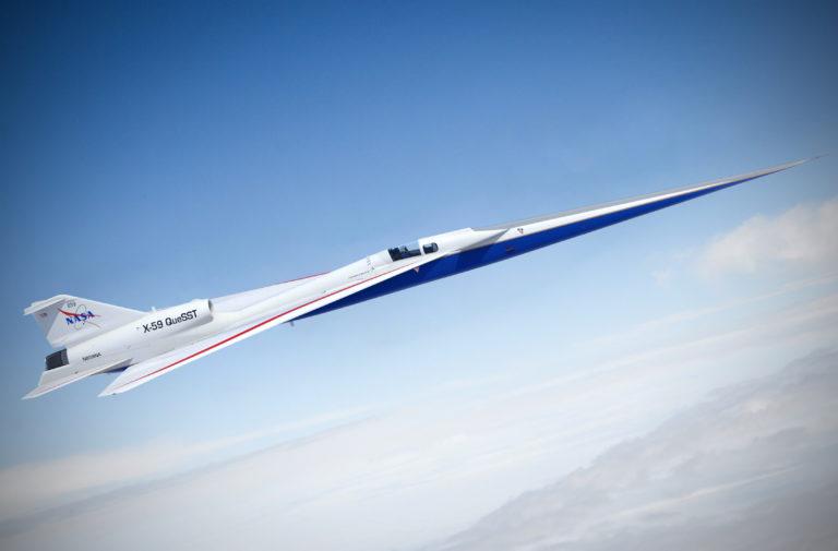 Oveľa lepší nástupca Concordu? Takto vyzerá   nadzvukové lietadla NASA, ktoré je tiché aj pri prekonaní zvukovej bariéry