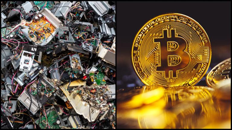 Odvrátená stránka bitcoinu. Jedna transakcia vytvorí elektronický odpad za 2 vyhodené iPhony
