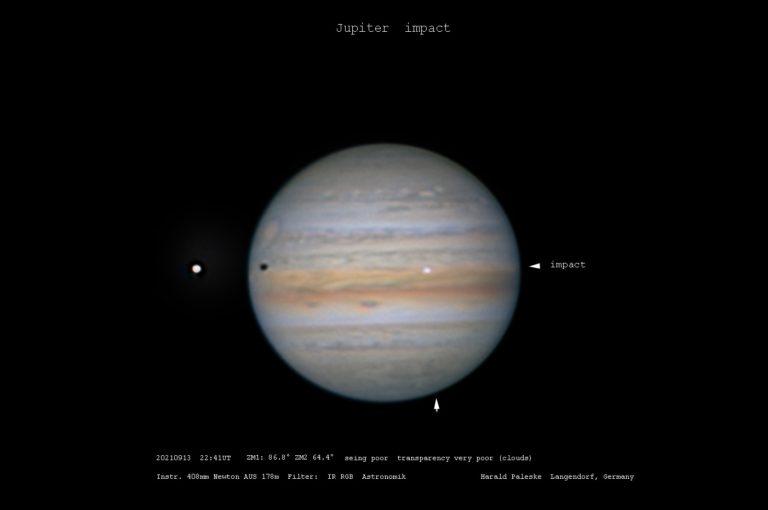 Masívna vesmírna kolízia. Už máme video, ako neznámy objekt narazil do Jupitera