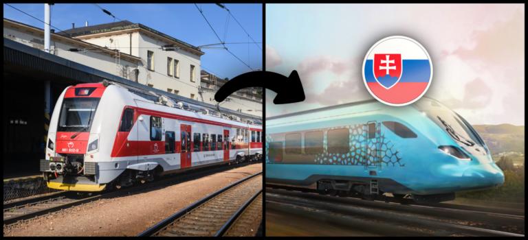 Vodíkové vlaky budú realitou aj na Slovensku. Ušetríme 6000 ton CO2, no majú skutočne zmysel?