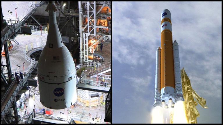 O krok bližšie k Mesiacu. Raketa Orion za 24 miliárd je konečne v rukách NASA, má 15 rokov a pôvodne mala odštartovať lety na Mars