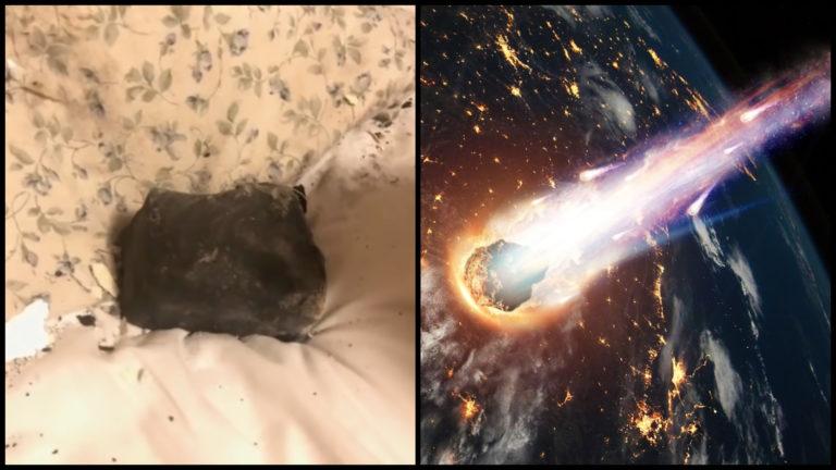 KURIOZITA: Ženu takmer trafil meteorit, prerazil jej strechu a pristál v spálni