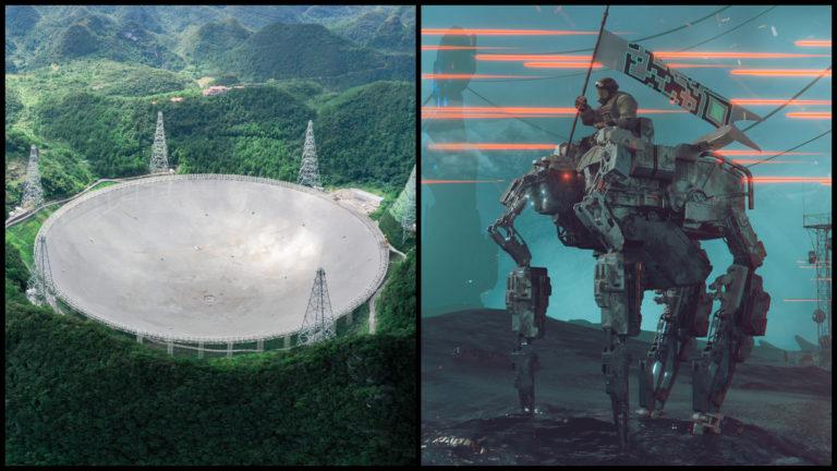 Najväčší rádioteleskop na Zemi vie detegovať mimozemské armády, Zem ale nezachráni