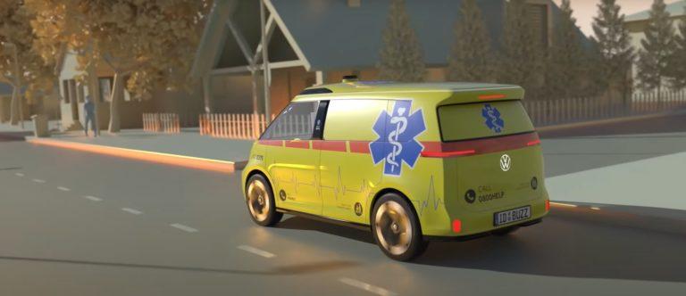 Autonómna sanitka bude realitou. VW predstavilo elektromobil, ktorý naň premení